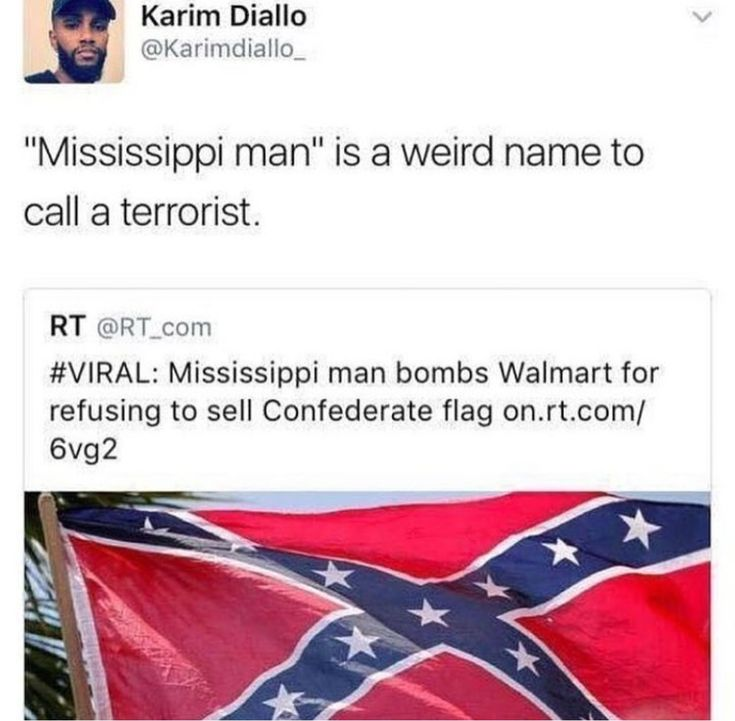 Terrorist bombs a Walmart for not selling terrorist organization flag. Fixed that headline for you.