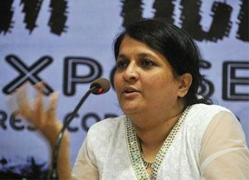 Anjali Damania quits Aam Aadmi Party http://www.vishwagujarat.com/politics/anjali-damania-quits-aam-aadmi-party/