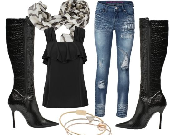 Time for a night out - Avond Outfits - stylefruits.nl