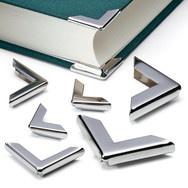 steel book corners: Book Corners, Manufactum 120, Bookbinding Ideas, Books Corner, Manufactum 1 20, Books Nooks, Books Binding, 60 Books, Steel Books