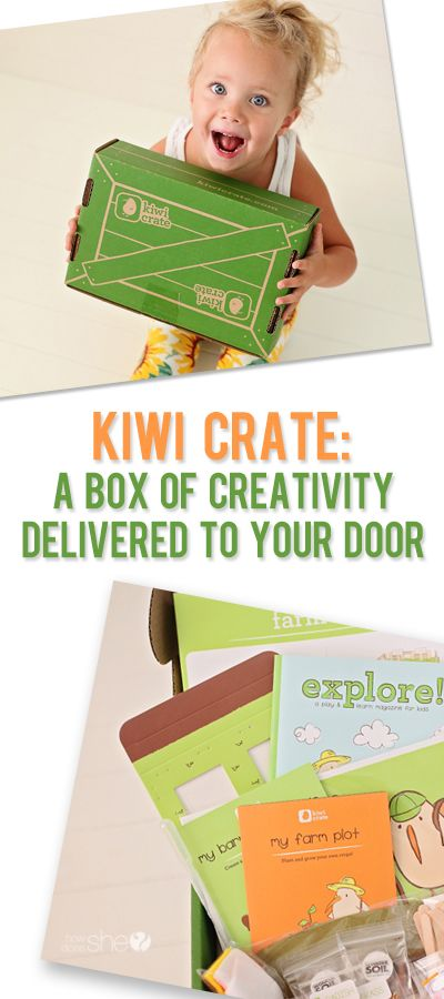 Have you tried Kiwi Crate? Happy mail at it's finest. So fun to keep