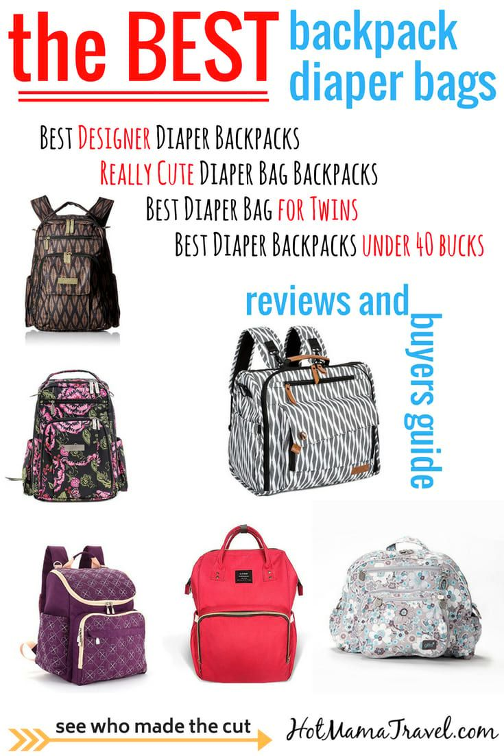 12 Best Backpack Diaper Bags to make baby