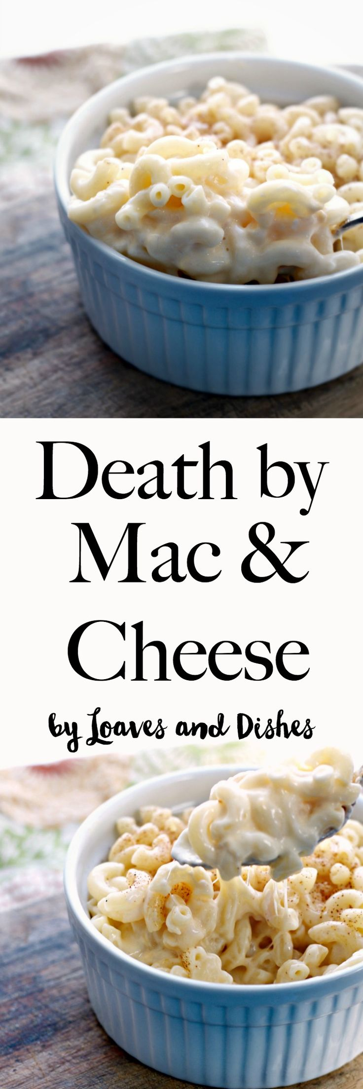 Creamy delicious stovetop and baked macaroni and cheese with a surprise in the center. Easy and make for a crowd! Cheesy homemade southern macaroni and cheese at its best - like Pioneer woman or Paula Deen might make. Uses Velveeta and the best heavy cream