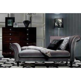 Transitional Fabric Lounge Chaise - AW228-190 - 2800.0000