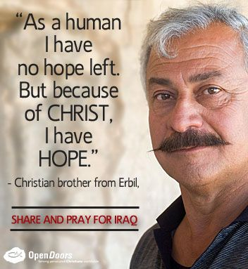 Pray for Christians in #Iraq