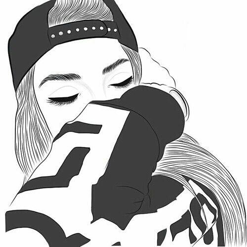 Tumblr Girls Drawing