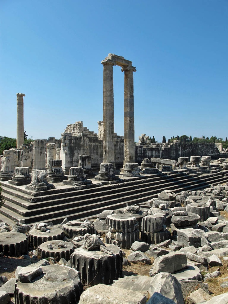 Ephesus, Turkey. I realize this is not the Holy Lands, but Paul the Apostle preached here. He probably stood on these very steps preached Jesus to them.
