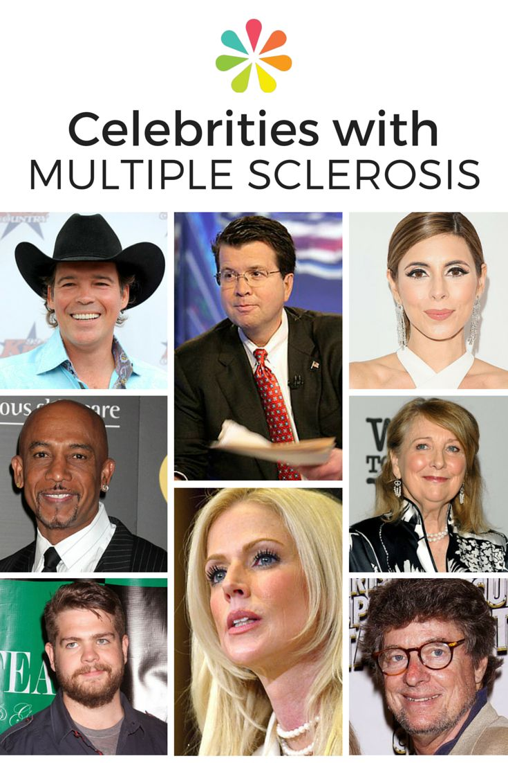 Celebrity just diagnosed with ms