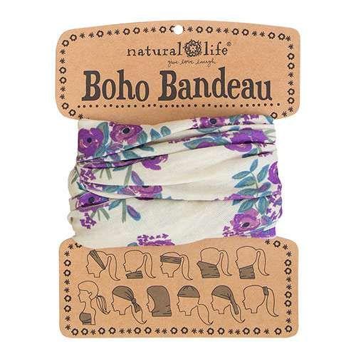 This super-versatile Cream Blooms Boho Bandeau looks great in every season.