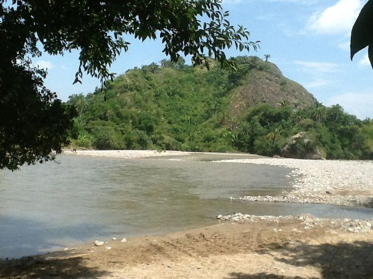 Río cucuana Ortega tolima Colombia