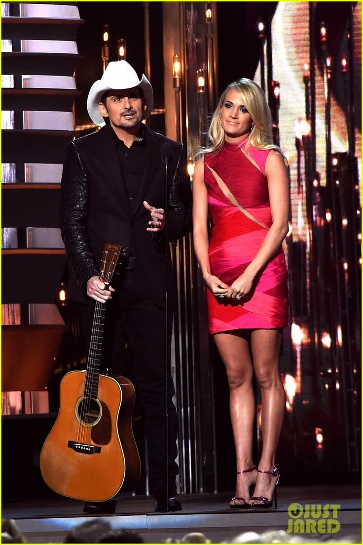 Brad Paisley & Carrie Underwood - CMA Awards 2015