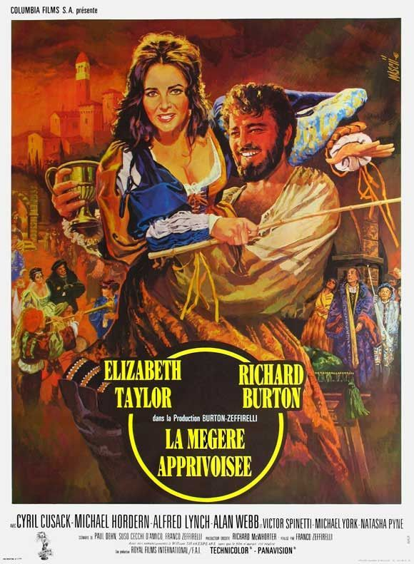 The Taming of the Shrew (French) 27x40 Movie Poster (1967)