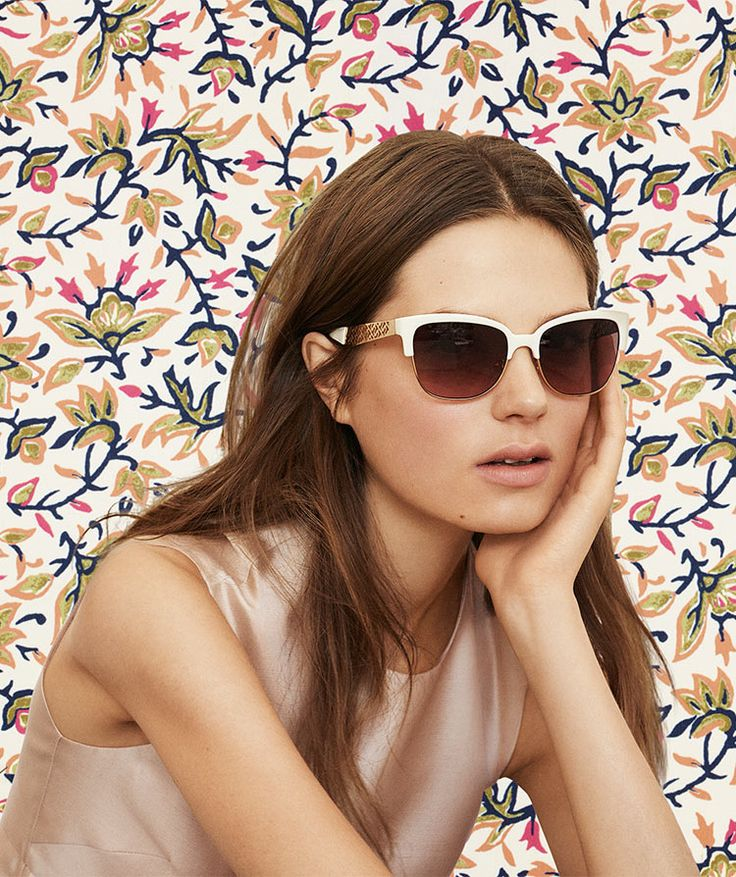 See the world... through a great pair of sunglasses   Tory Burch Spring 2014
