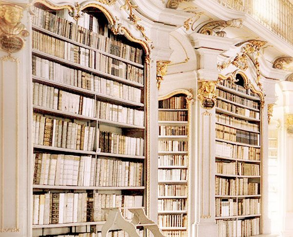 library: books and storage