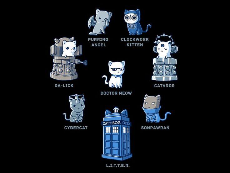 Doctor Meow | Funny, cute & nerdy shirts | TeeTurtle | TeeTurtle