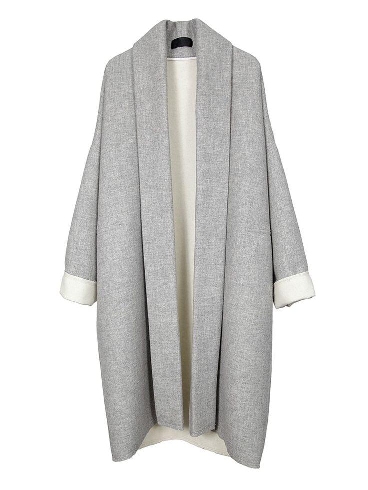 Nili Lotan | WRAP KIMONO COAT - Jackets + Coats: