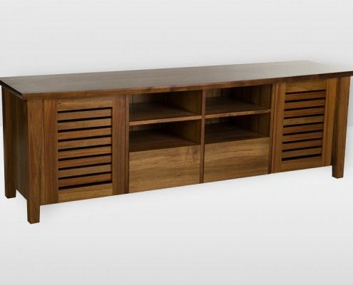 This could look good in a dark wood for storage in the lounge area