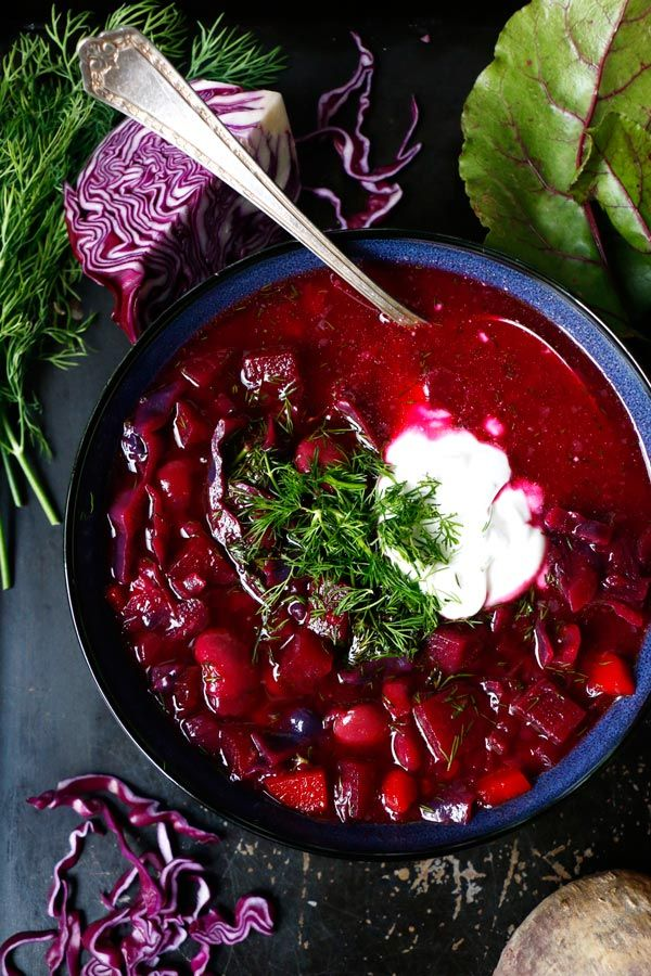 The Best Vegan Borscht Recipe.