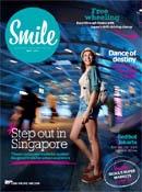 Inflight magazine cover image: Smile (Cebu Pacific)