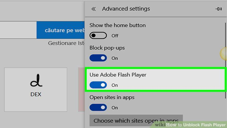 How To Unblock Adobe Flash Player On Your Browser Browser Flash Best Apps