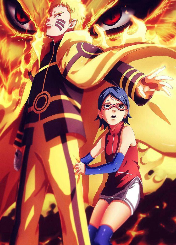 Naruto and Saruda Boruto/Naruto series