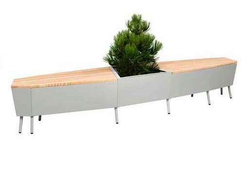 The Flora Elevation Seating Collection - no maker named but I love this piece.