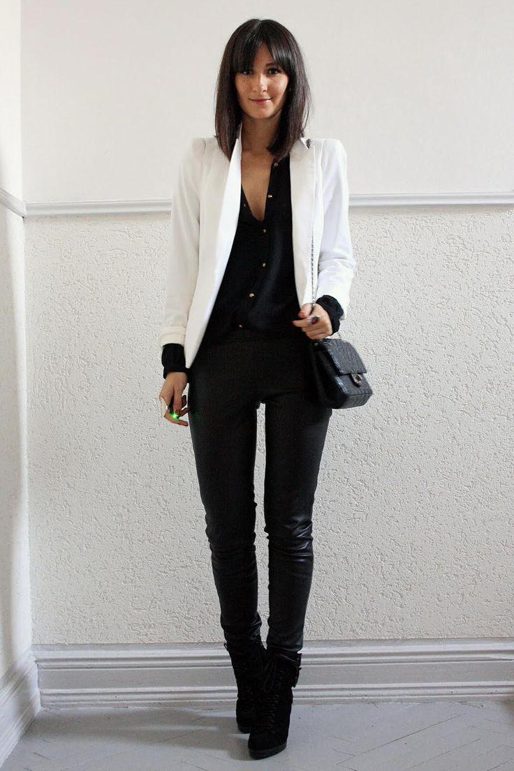 The white blazer   Fashion Boulevard by Anya P