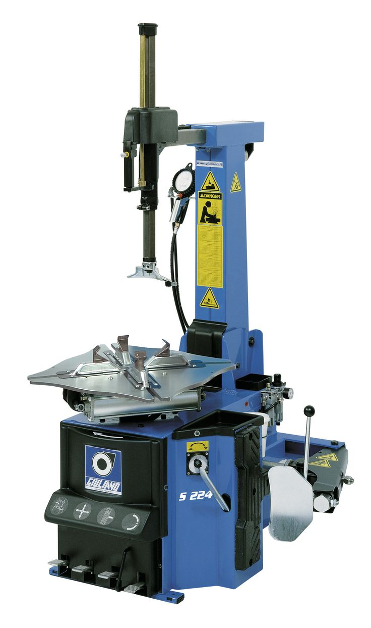 """S 224: Superautomatic tyre changer suitable for car and motorcycle wheels having rim size from 10"""" to 24"""" rim"""