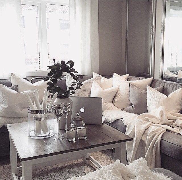 Entry Photo Credit Inspire Me Home Decor On Instagram: 1000+ Ideas About Grey Couch Rooms On Pinterest