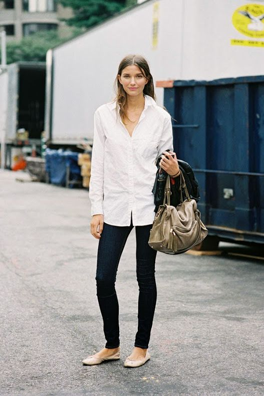 How to Wear a Men's Shirt Like a FashionGirl   StyleCaster