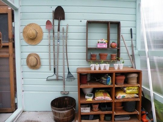 garden supplies that need organizing