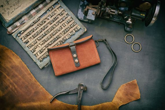 Handmade Leather Wallet Unisex Leather Wallet Gifts
