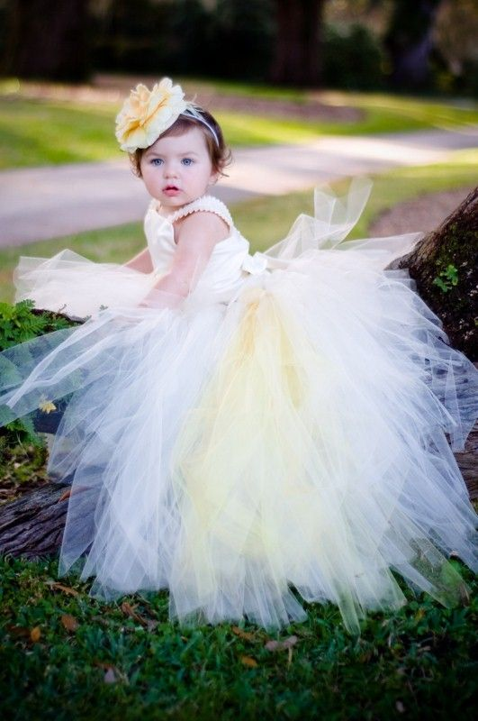 Reserved for Jess FIvory Flower Girl Dress w by BellaBeanCouture