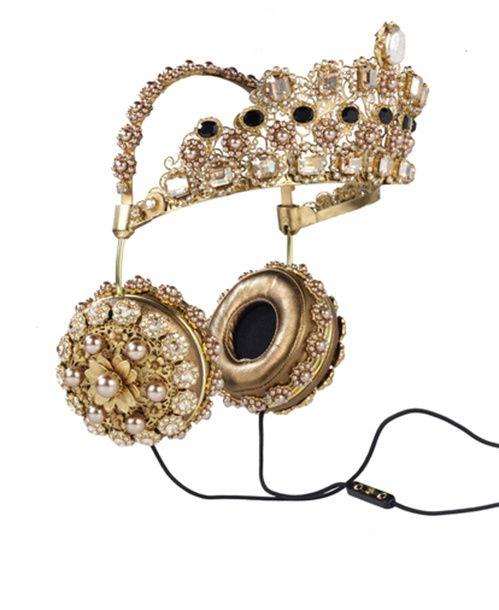 Frends x Dolce & Gabbana casque audio couronne