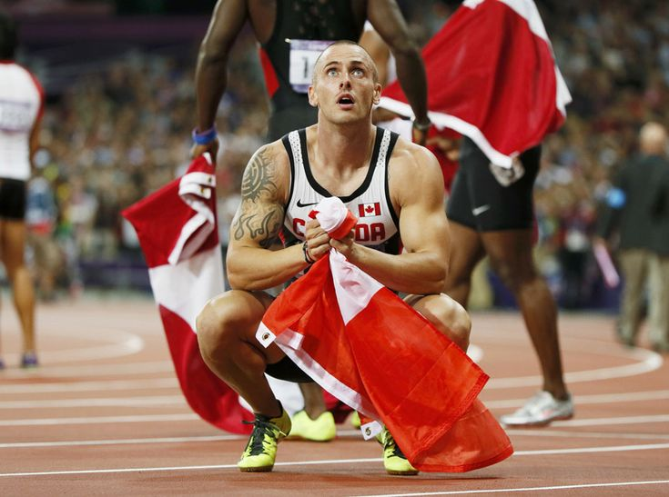Canada's Jared Connaughton reacts after the men's 4x100m relay final on August 11, 2012. Canada finished third but were disqualified when Connaughton stepped on the lane line. (Reuters/Lucy Nicholson): Men 4X100M, Relay Finals, 4X100M Relay, Olympic 2012 Canada, Connaughton React, 2012 Olympic, Men'S 4X100M, Canada Jared, Jared Connaughton