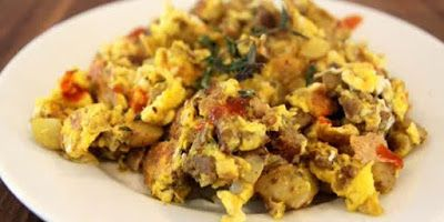 Resep Orak-Arik Telur Sayuran