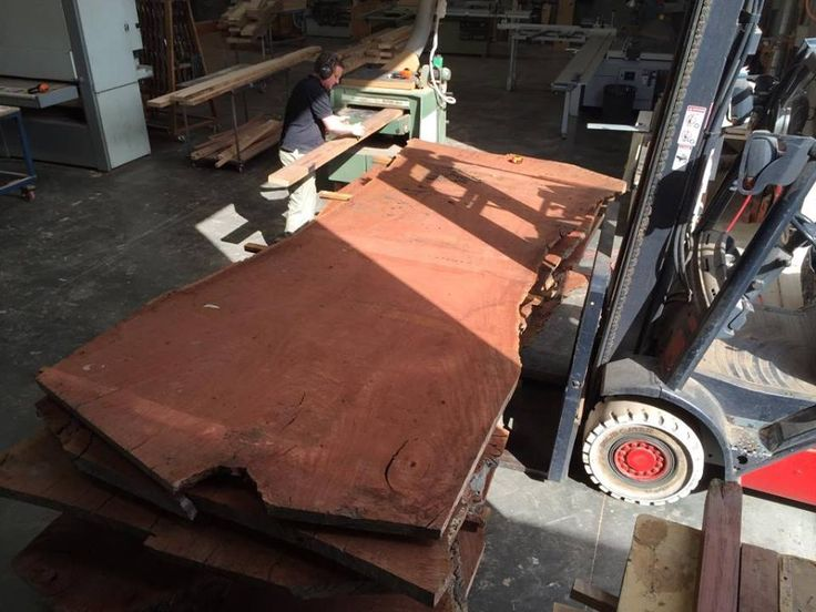 Redgum Timber Slab all for customers orders.