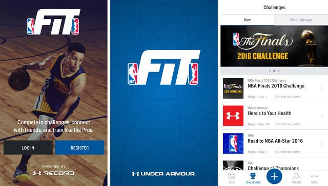 The NBA Teams Up With Under Armour To Launch Its First-Ever Fitness App: The NBA Fit App uses UA's connected fitness platform to give fans training tips and more from players and coaches from around the league.