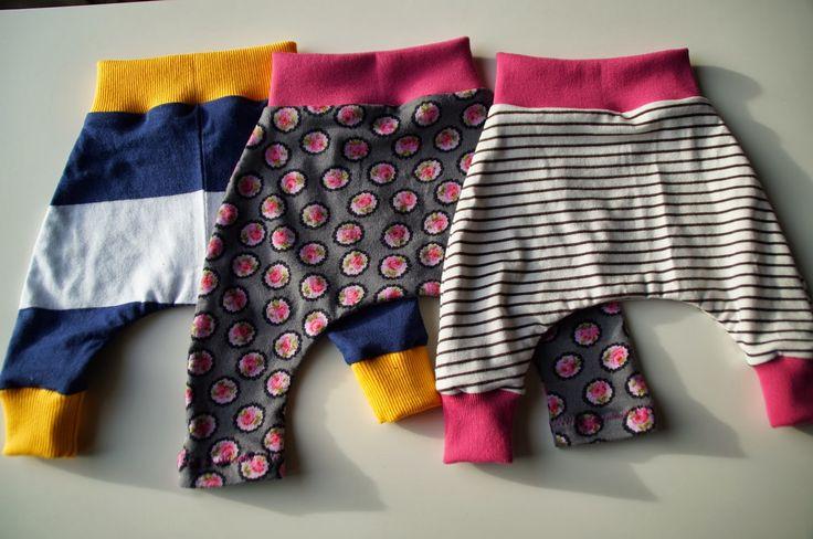 Babyhosen aus Altkleidern und Stoffresten / Baby's pants made from discarded…
