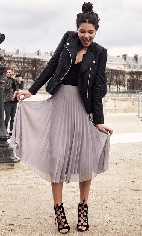 ab2f690db9d8 New Arrival Skirt, Street Style Skirt,Chiffon Skirt,Fashion Women Skirt ,Spring