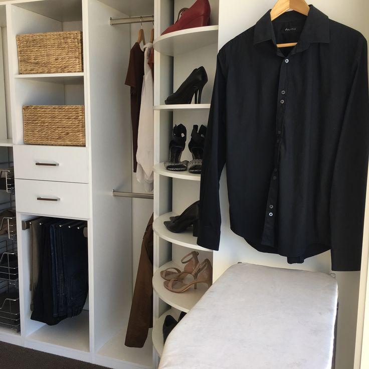 Charming Wardrobe Valet Revolving Closet Carousel