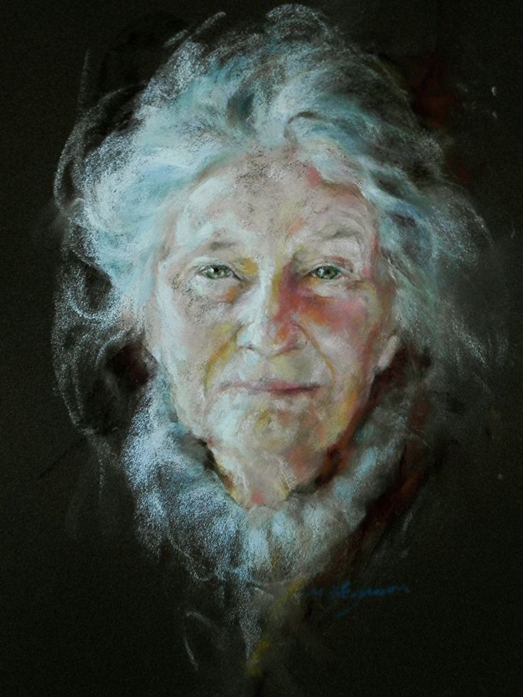 Margaret Ferguson - pastel IN MY EXP, PASTELS SO MUCH HARDER TO PULL OFF THAN EVEN WATERCOLOR