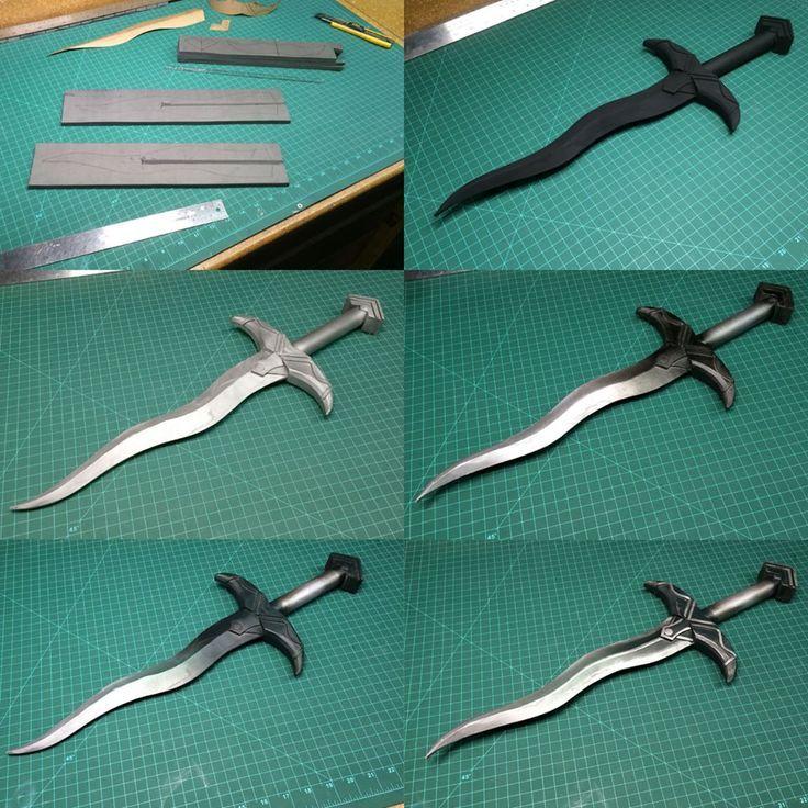 how to make a foam minecraft sword