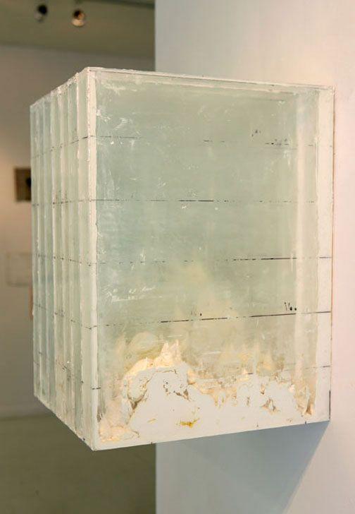 1 Landscape Glass Wood Oil Paint Didier Corallo