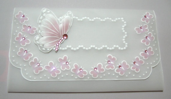 Birthday invitation Butterflies by WangoArt on Etsy, $7.00