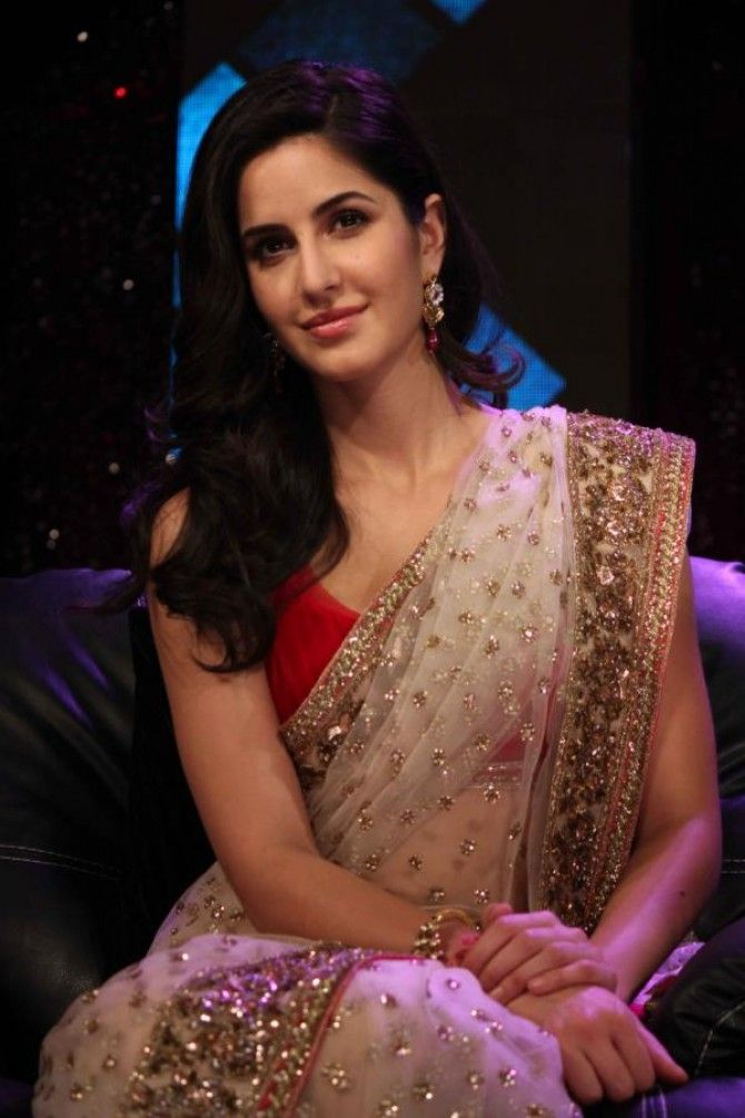 katrina kaif saree - Google Search