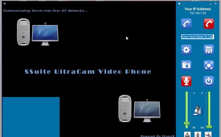 Το SSuite UltraCam Video Phone σχεδιάστηκε για να επικοινωνία μεταξύ των χρηστών χωρίς διακομιστή και για χρήση σε οποιοδήποτε δίκτυο LAN ή Wi-Fi. Είναι επίσης σε θέση να δημιουργήσει μια ιδιωτική και ασφαλή επαφή ομότιμης σύνδεσης η οποία θα βελτιώσει τις επικοινωνίες δικτύου την παραγωγικότητα των επιχειρήσεων και τις σχέσεις με φίλους και συναδέλφους.  Διαθέτει επίσης μια πύλη μεταφοράς αρχείων για την αποστολή και λήψη οποιουδήποτε αρχείου ή εγγράφου ενώ επικοινωνείτε σε πραγματικό…