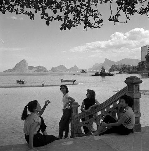 Rio de Janeiro, 1940's. Fotografia: Jean Manzon.