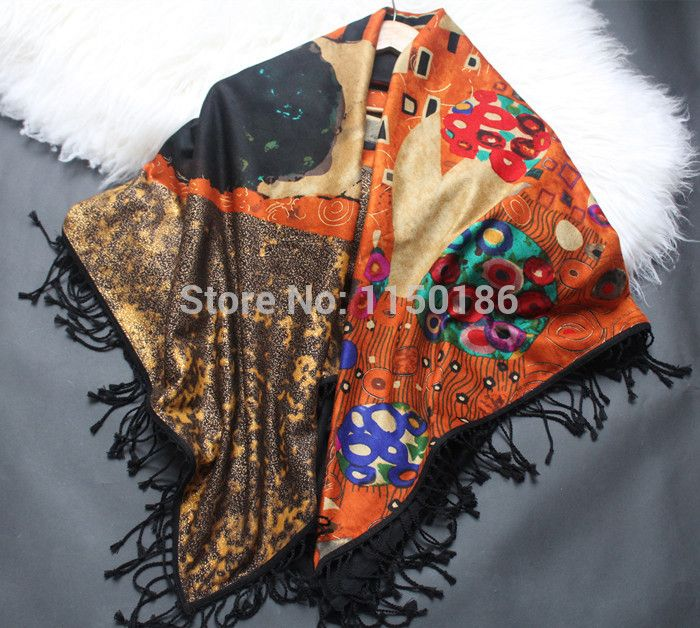Find More Information about Gustav klimt brushed fabric heavy silk large facecloth autumn and winter luxury cape,High Quality fabric sofas and couches,China fabric 39 Suppliers, Cheap cape cloak from KASA_FASHION'' on Aliexpress.com