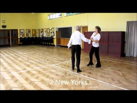Sally Ann Cha Cha Sequence Dance Walkthrough